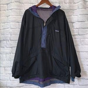 Patagonia Jackets & Coats - Patagonia Vintage 1/2 Snap Anorak Raincoat • Sz L